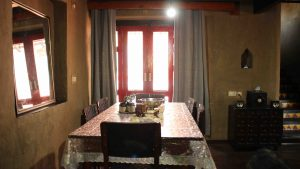 Dining | Dharamshala | Above 14000 ft | Forktail Villa