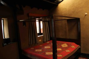 Downstairs bedroom | Dharamshala | Above 14000 ft | Forktail Villa
