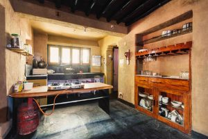 Kitchen and bar | Dharamshala | Above 14000 ft | Forktail Villa