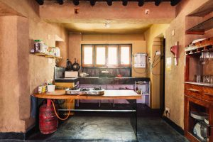 kitchen and bar| Dharamshala | Above 14000 ft | Forktail Villa