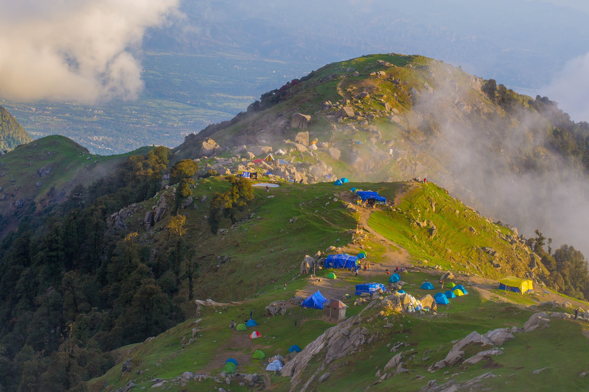 Triund | Above 14000 ft | Forktail Villa | Camping